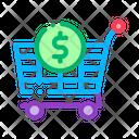 Cart Dollar Buy Icon