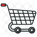 Shopping Trolley Shopping Cart Pushcart Icon
