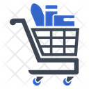 Full Groceries Shopping Cart Icon