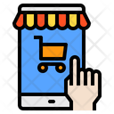 Mobile Screen Shop Icon