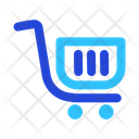 Shopping Chart Seo Business Icon