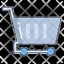 Artboard Shopping Cart Shopping Trolly Icon