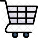 Online Shopping Shopping Cart Trolley Icon