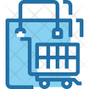 Shopping Cart Bucket Icon
