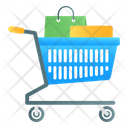Shopping Trolley Handcart Pushcart Icon
