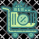 Shopping Cart Cart Giftbox Icon
