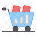 Shopping Cart Shopping Trolley Supermarket Trolley Icon