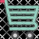 Shopping Trolley Dollar Icon