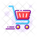 Cart Shopping Trolley Online Shopping Icon