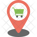 Shopping Cart Pointer Icon