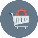 Shopping Cart Setting Icon