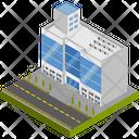 Building Company Shopping Center Icon