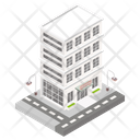 Building Architecture Shopping Mall Icon