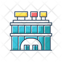 Shopping Center Front Icon