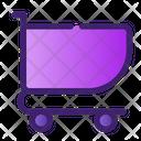 Shopping Chart Shopping Trolley Icon
