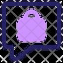 Ecommerce Chat Marketing Icon