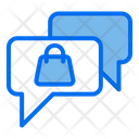 Shopping Chat Icon