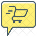 Cart Comment Ecommerce Icon