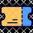 Ticket Ecommerce Receipt Icon