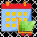 Shopping Date Shopping Cart Icon