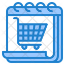 Shopping Day Shopping Cart Icon