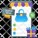 Sale Deals Mcommerce Shopping Sale Icon