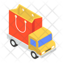 Shopping Delivery Road Freight Delivery Van Icon