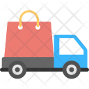 Shopping Delivery Service Icon