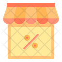 Discount Shop Store Icon
