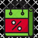 Bag Discount Shopping Icon