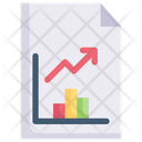 Internet Marketing Report Data Chart Statistic Icon