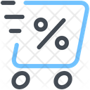 Discount Shopping Thermal Box Icon