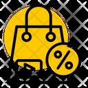 Discount Online Shop Media Icon