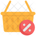Shopping Discount Basket Sales Icon