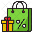 Shopping Discount Gift Bag Icon