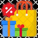Shopping Discount Gift Shopping Discount Gifts Icon