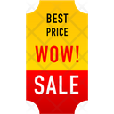Shopping Discount Banner Banner Tag Icon