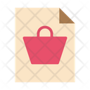Shopping Document Icon