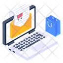Product List Shopping Email Shopping Mail Icon