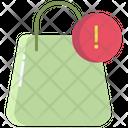 Shopping Error Icon