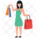 Shopping Excitement Icon