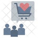 Shopping Parties Loyalty Expectation Icon