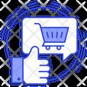 Shopping Feedback Icon