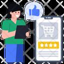Shopping Reviews Shopping Feedback Customer Feedback Icon