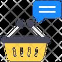 Shopping Feeds Shopping Communication Shopping Feedback Icon