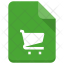 Shopping File Document Icon