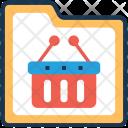 Folder Shopping Commerce Icon