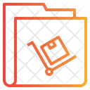 Shopping Folder Icon