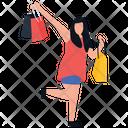 Shopping Fun Leisure Time Buying Icon