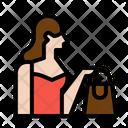 Shopping Girl Woman Mother Icon
